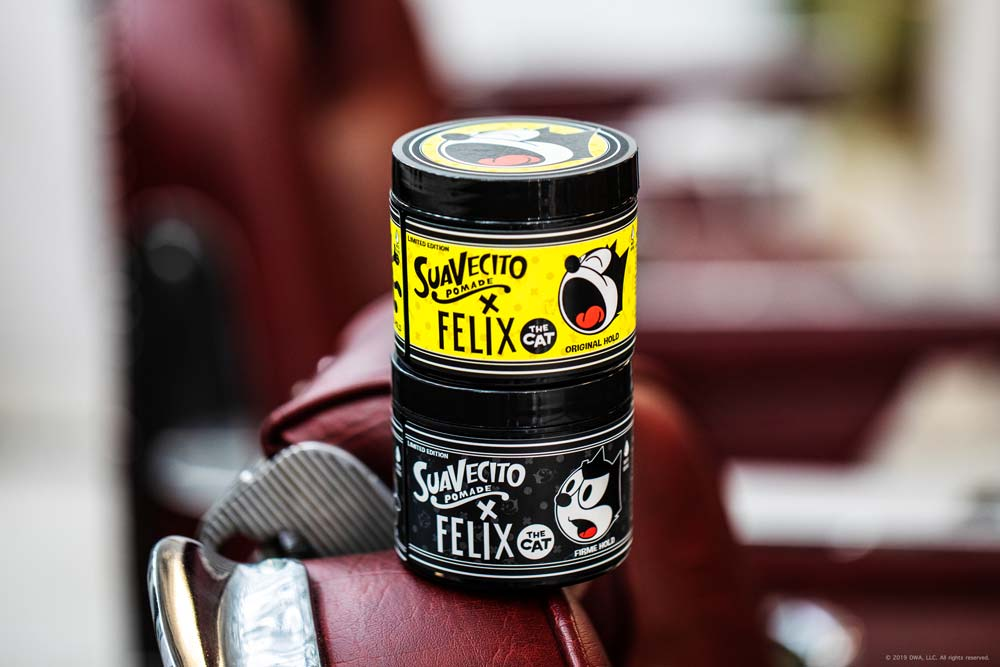Suavecito X Felix The Cat - Original & Firme Hold Pomade