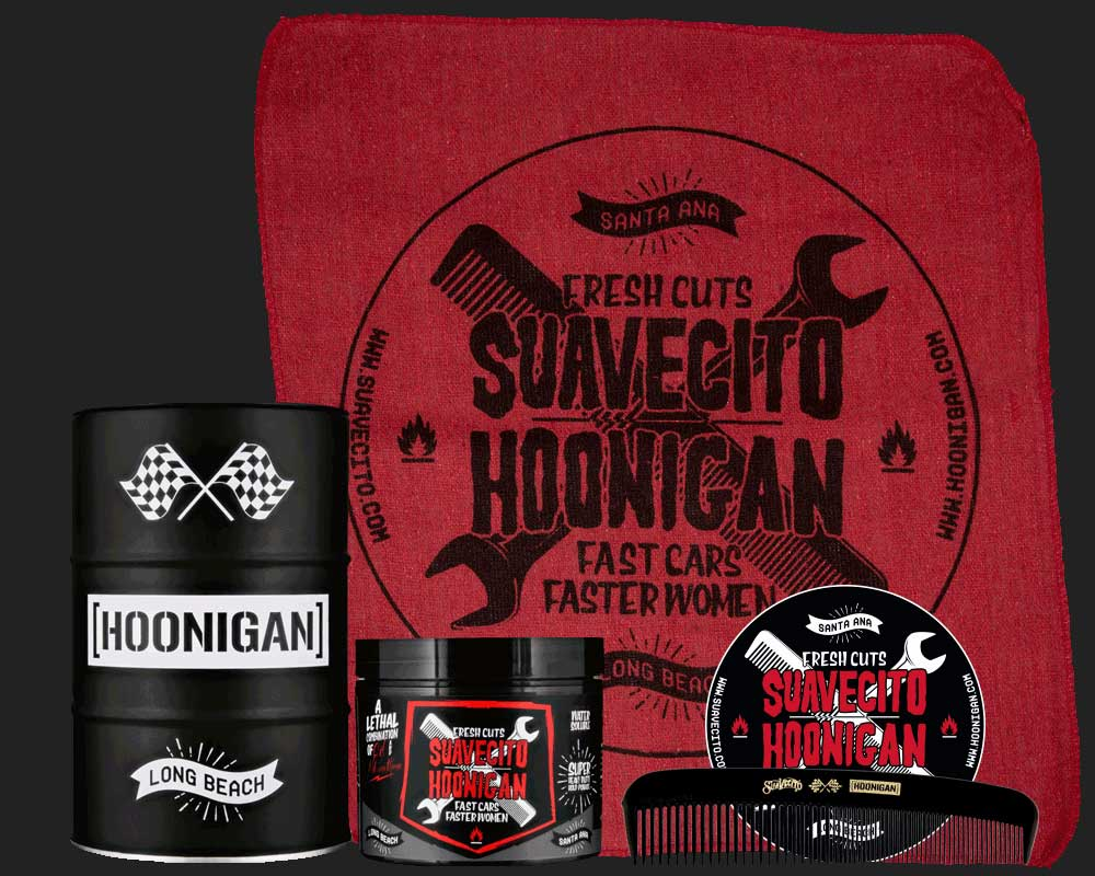 Suavecito X Hoonigan Firme Barrel Set