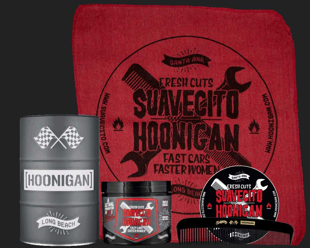 Suavecito X Hoonigan OG Barrel Set