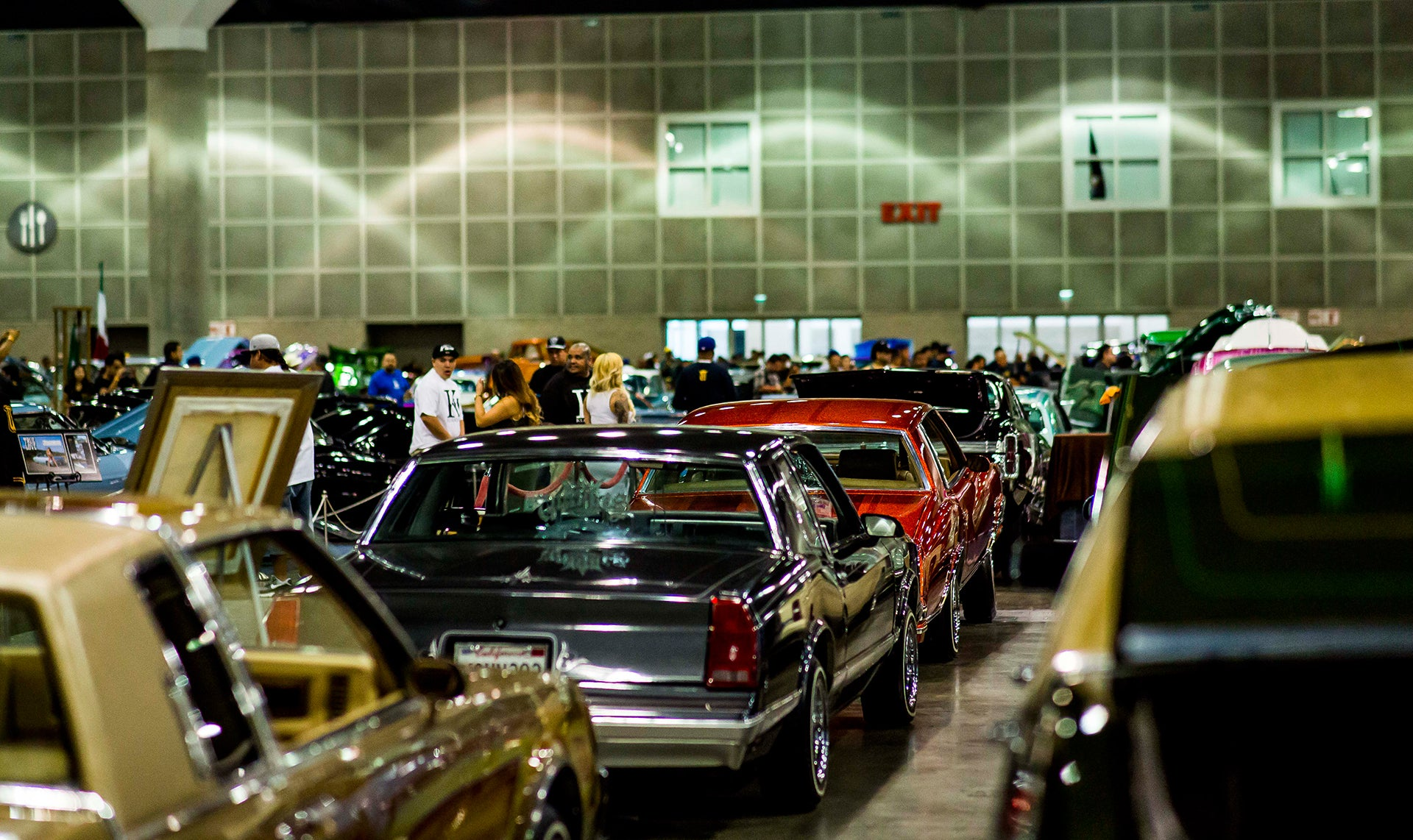 sea of lowriders