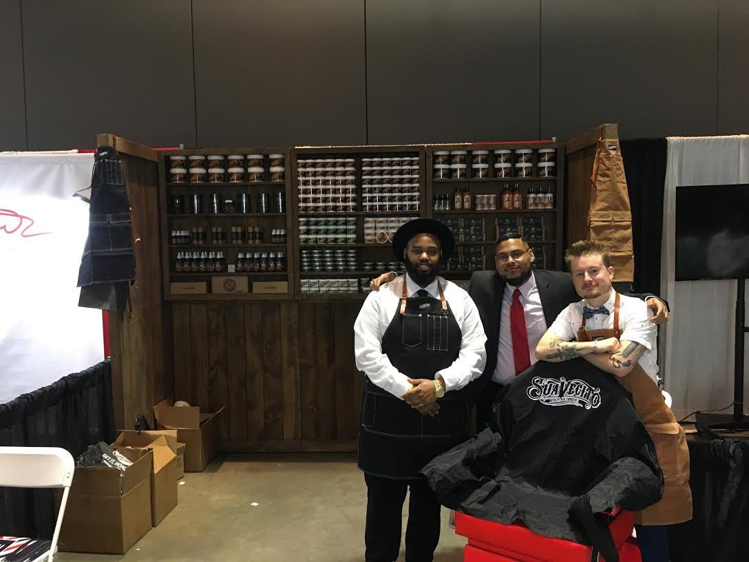 CT BARBER EXPO instagram page with suavecito pomade