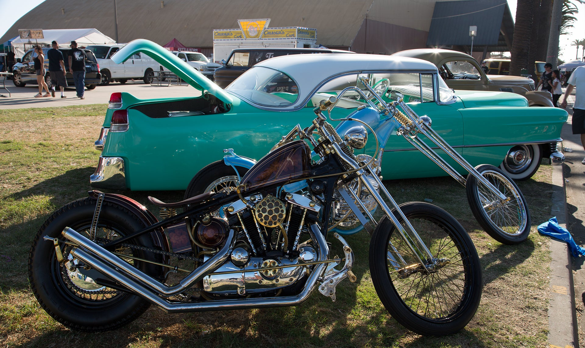sweet motorcyle at ventura nationals