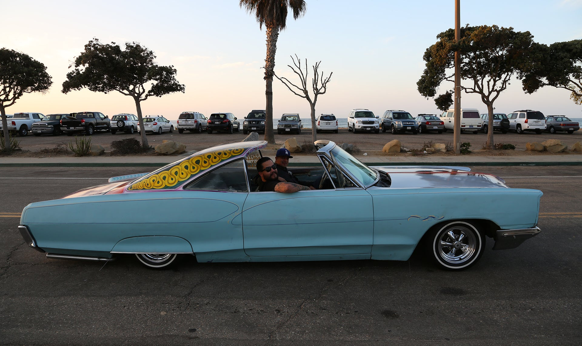Our friend Mr. Rhythm in a hollywood top lowrider