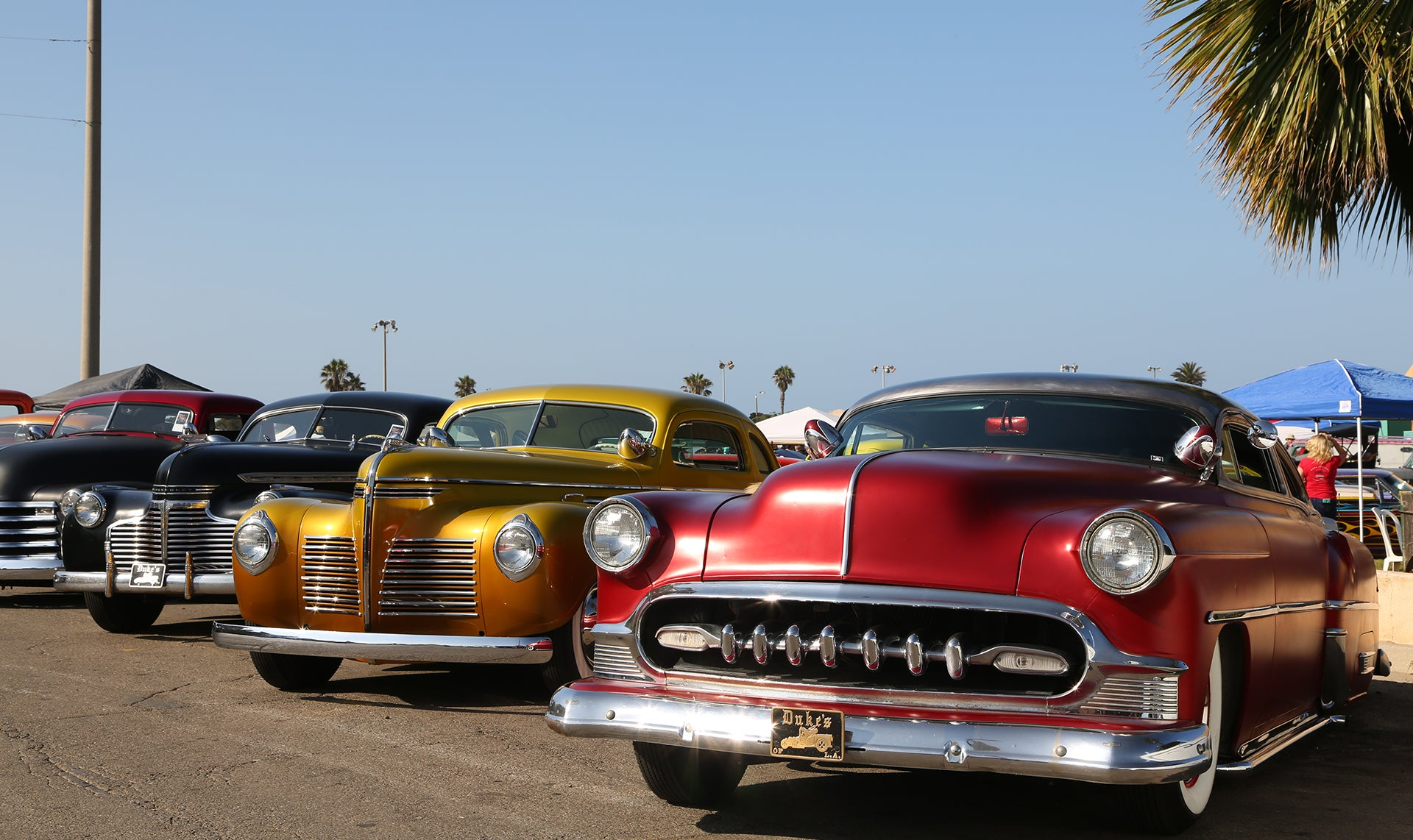 Nice shot of Chevrolets in line at ventura nationals 2015