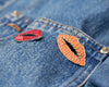 Cita Lips Enamel Pin