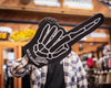 Skeleton Foam Hand - Black 16""