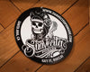 Suavecita Black and White Tin Sign