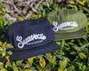Chain Stitch Hat - Navy