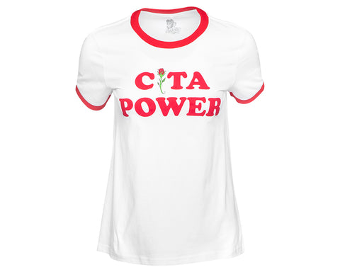 Cita Power Ringer Tee Front