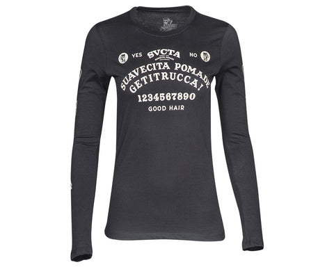 Suavecita Very Superstitious Long Sleeve Tee - Front