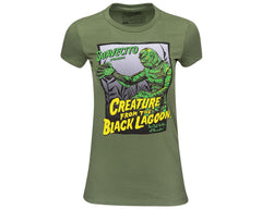 Suavecito X Creature from the Black Lagoon Women's Tee Front