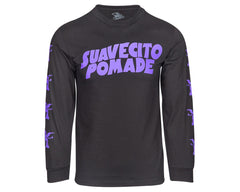 Suavecito Master of Pomade Long Sleeve Tee - Front