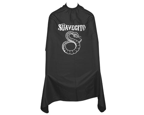 Suavecito Snake Bite Barber Cape Open