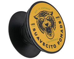Suavecito Tiger Pop Cell Phone Holder - Open