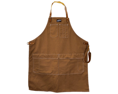 Work Apron Long - Brown