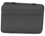 Premium Blends Black Embossed Magic Wallet - Back