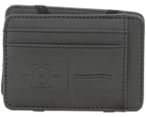 Premium Blends Black Embossed Magic Wallet - Front