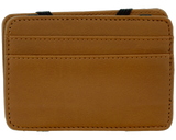 Premium Blends Brown Embossed Magic Wallet - Back