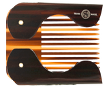 Folding Pocket Beard Comb - Front Folded View