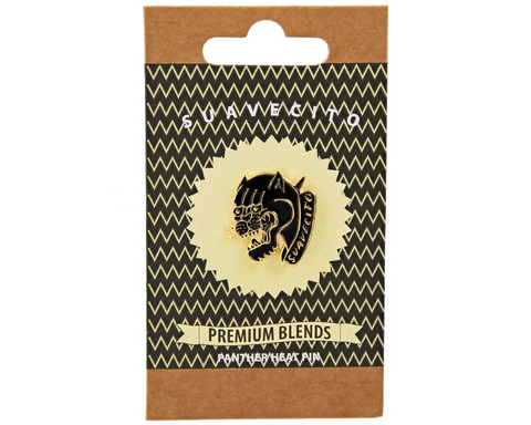 Panther Heat Gold Pin - Front