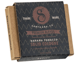 Havana Tobacco Solid Cologne - Packaging
