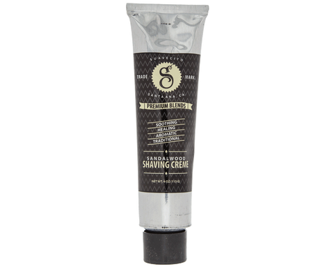 Premium Blends Sandalwood Shaving Cream 4oz