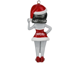 Suavecita Christmas Tree Ornament - Back
