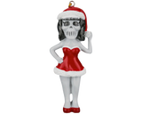 Suavecita Christmas Tree Ornament - Front