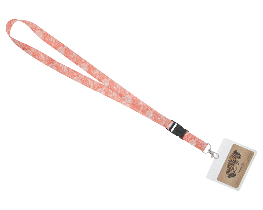 Suavecita Collage Lanyard
