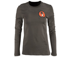 Espina Tee - Army Long Sleeve - Front