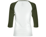 OG Army Green Baseball Tee - Back