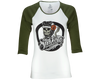 OG Army Green Baseball Tee - Front