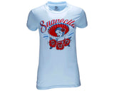 Mariachi Tee - Light Blue - Front