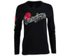 Red Thorn Tee - Black Long Sleeve - Front