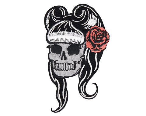 Suavecita Skull Head Patch