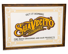 Suavecito Bar Mirror - Front