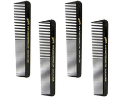 Black Comb Pack Of 4 Combs