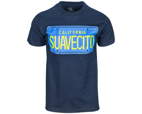 Blue Plates Tee - Front