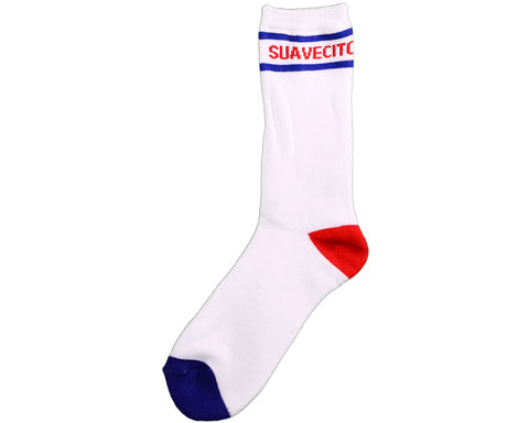 Suavecito Blue & Red Socks