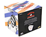 White Enamel Camping Mug Packaging Back