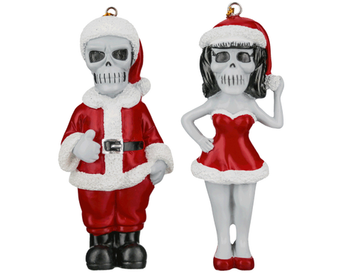 Suavecito & Suavecita Christmas Tree Ornaments