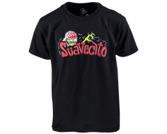 Suavecito Drag Nut Kid's Black Tee - Front