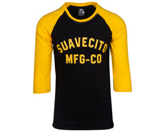 El Mirage Gold Baseball Tee - Front