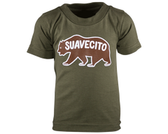 Suavecito Grizzly Toddlers Tee - Front