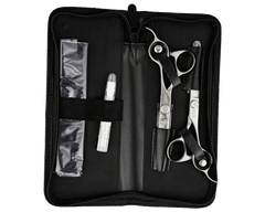 "Precision Barber Shears & Thinners - Matte - 6"" Set"
