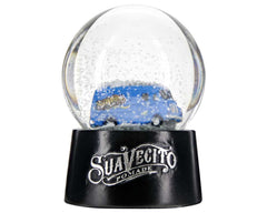 Metro Van Snow Globe With Snow On Globe