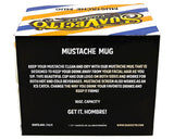 Mustache Mug Packaging Back