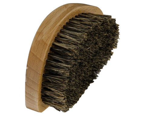 Natural Wood Soft Grade Boar's Hair Beard Brush