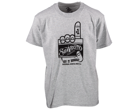 Suavecito Number One Kid's Tee - Front