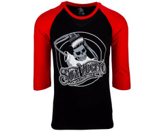 OG Baseball Black & Red Tee - Front